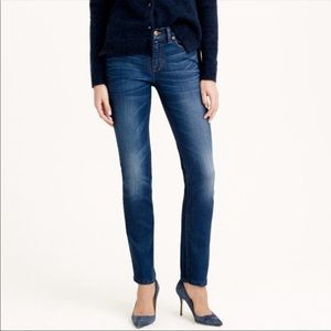 "J. Crew | ""old glory"" slim straight reid jeans"